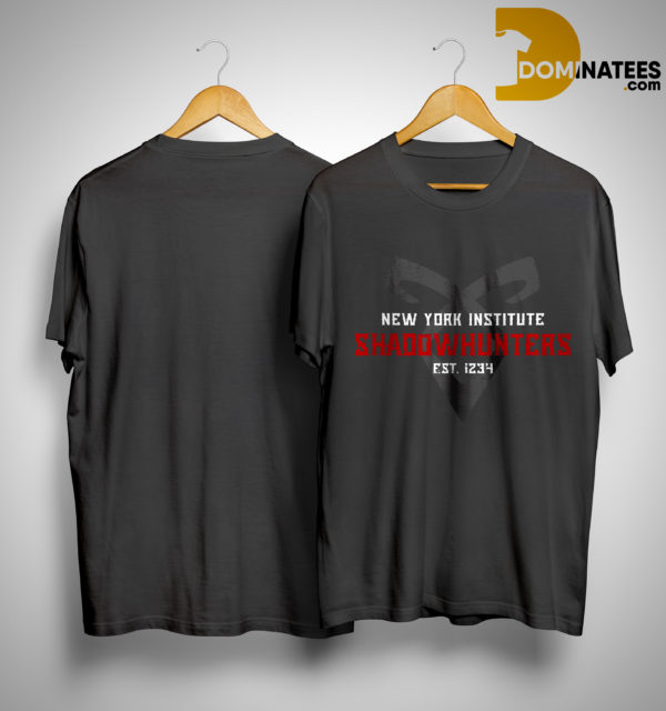 New York Institute Shadowhunters Est 1234 Shirt