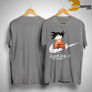 Nike Lazy Goku Just Do It Tomorrow Shirt