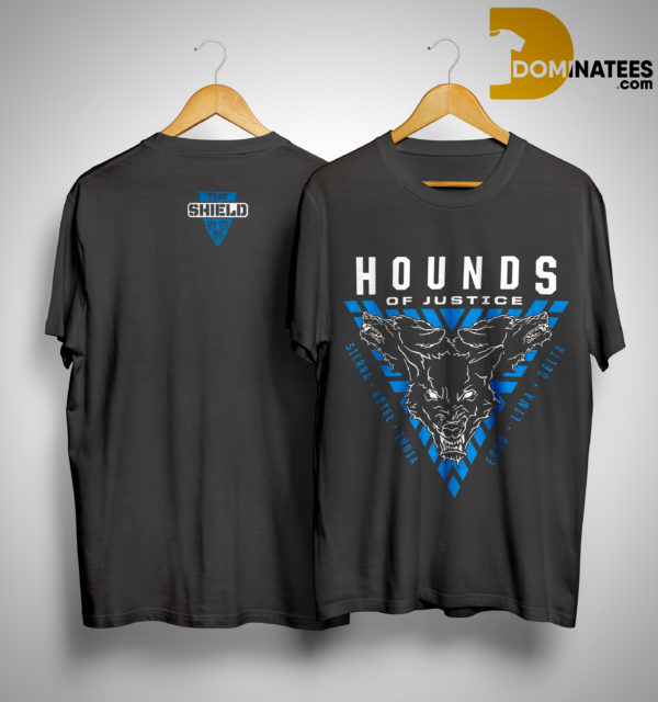 Seth Rollins The Shield Hounds Of Justice Shirt