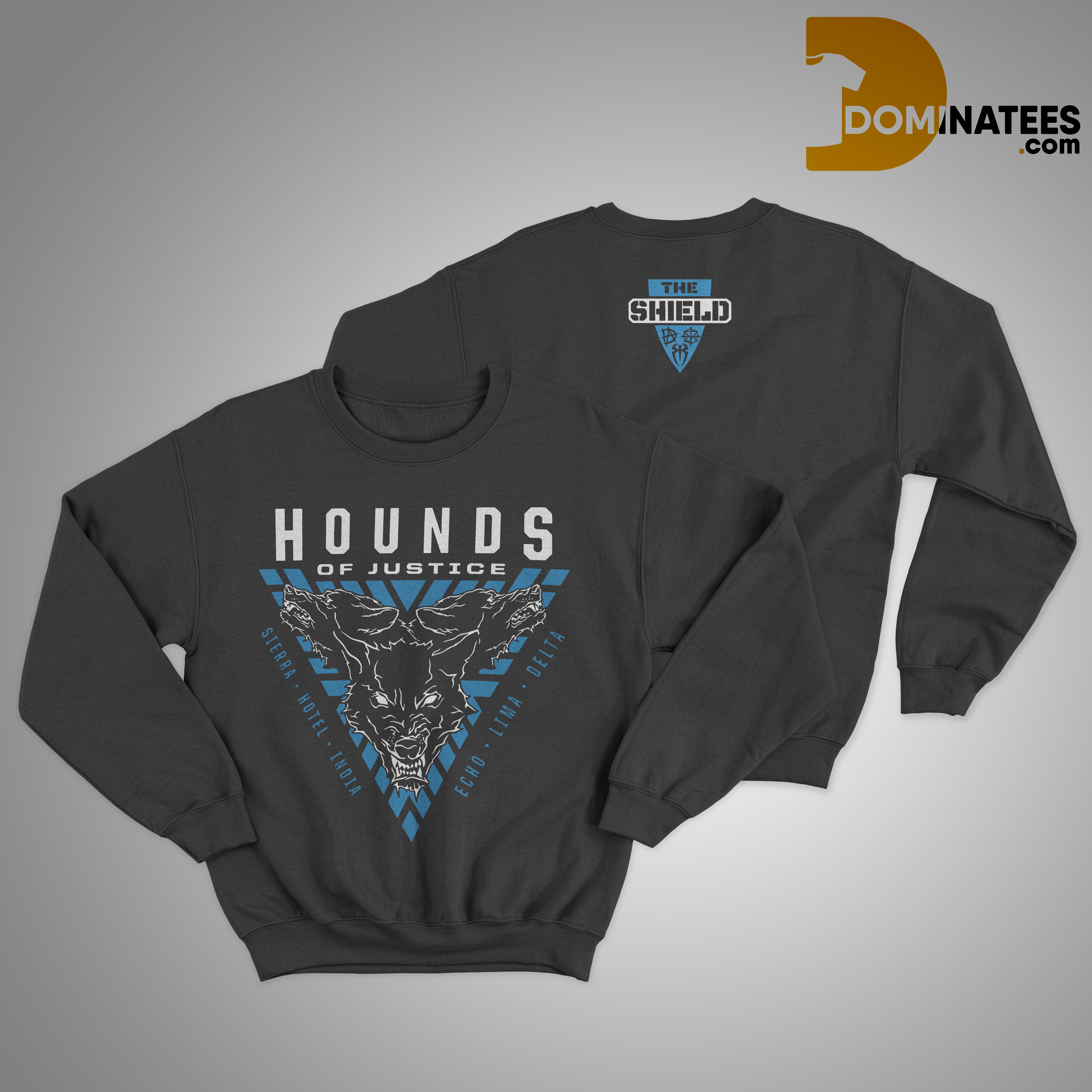 Seth Rollins The Shield Hounds Of Justice Sweater