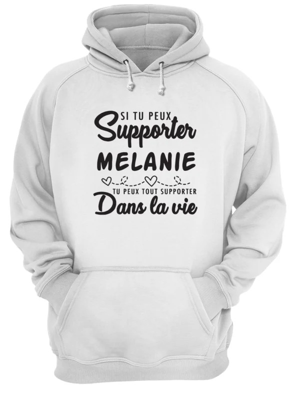 Si Tu Peux Supporter Fred Tu Peux Supporter Dans La Vie Hoodie