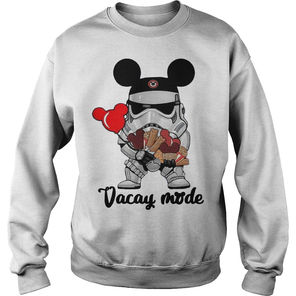 Star Wars Stormtrooper Mickey Vacay Mode Sweater