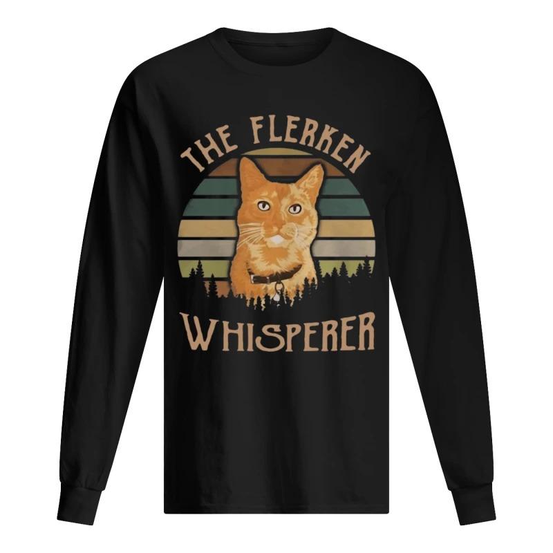 Sunset Cat Goose The Flerken Whisperer Long Sleeve Tee