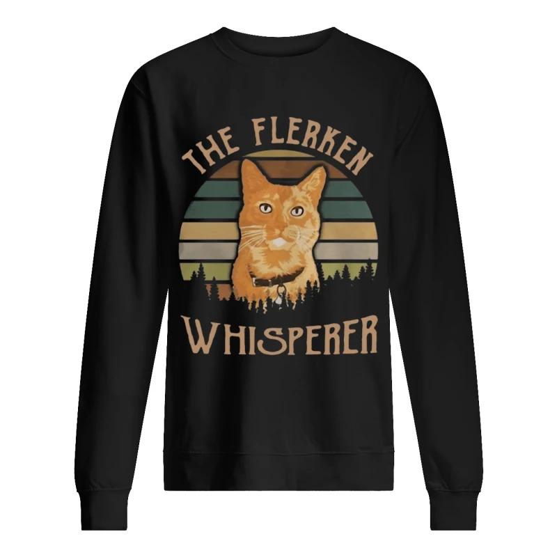 Sunset Cat Goose The Flerken Whisperer Sweater