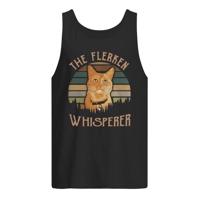 Sunset Cat Goose The Flerken Whisperer Tank top