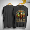 Sunset Sloth Hiking Team We Will Get There When We Get There Shirt