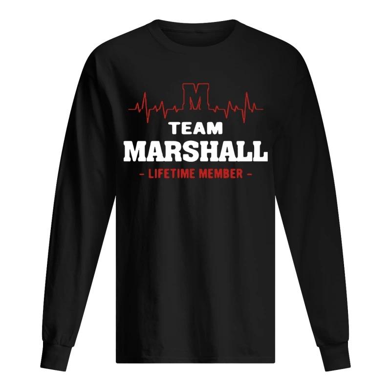Team Marshall Lifetime Member Long Sleeve Tee
