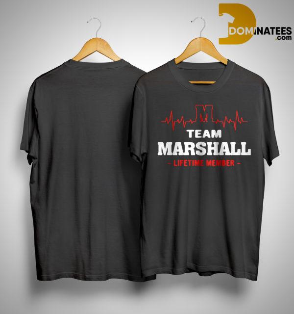 Team Marshall Lifetime Member Shirt