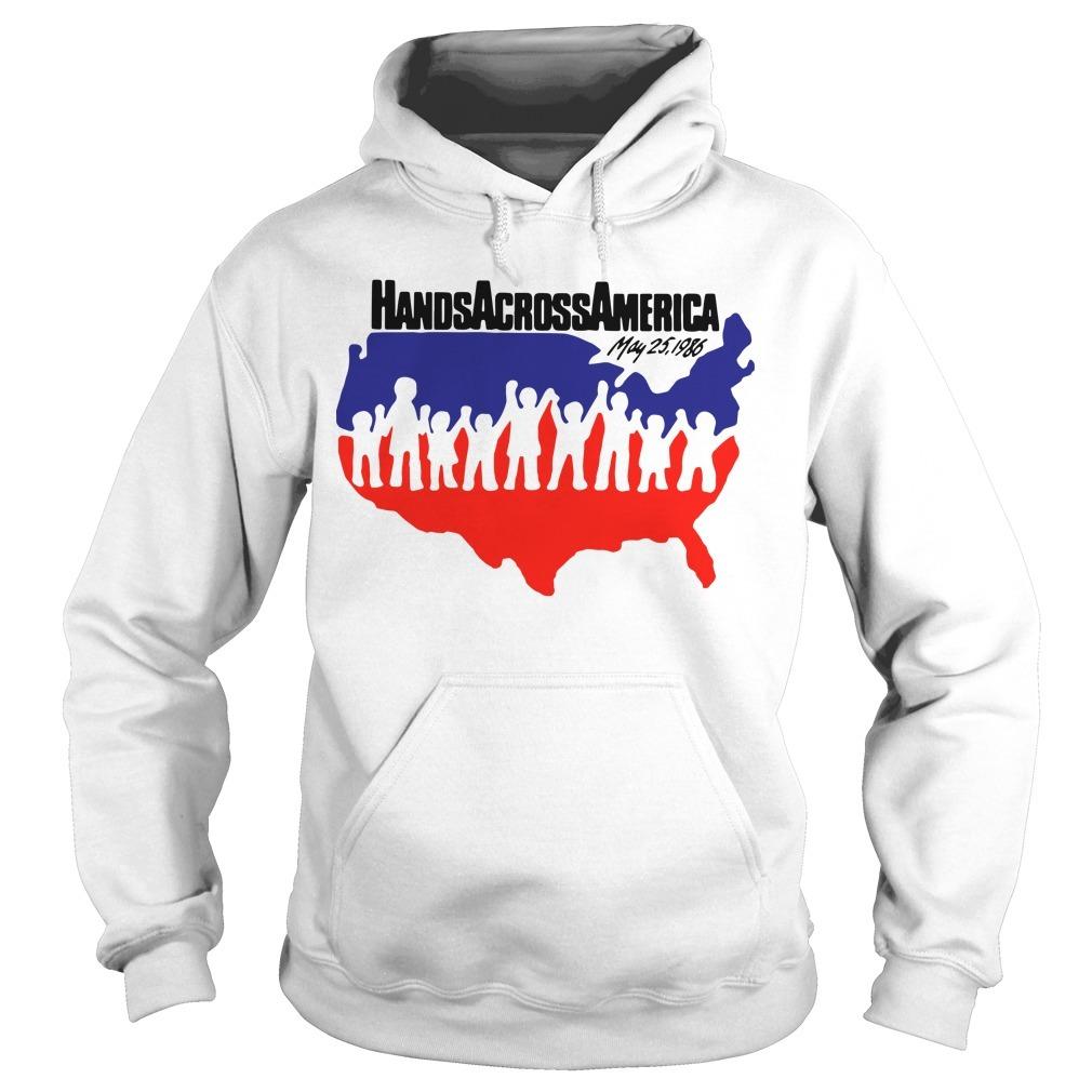 US Hands Across America Hoodie