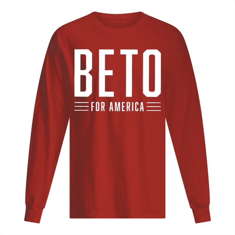 beto for america logo campaign long Sleeve Tee
