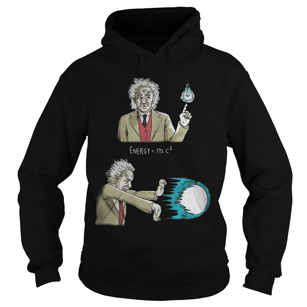 Albert Einstein Energy Super Energy Hoodie