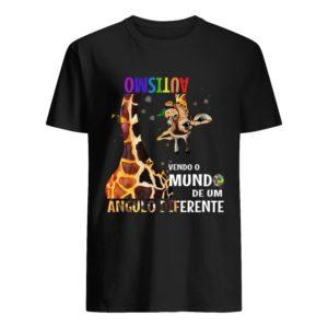 Autismo Vendo O Mundo De Um Angulo Diferente Shirt