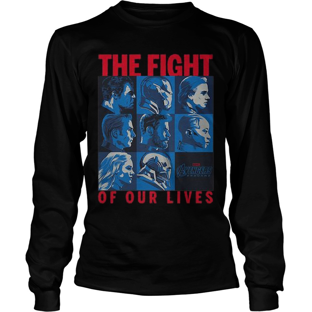 Avengers Endgame The Fight Of Our Lives Long Sleeve Tee