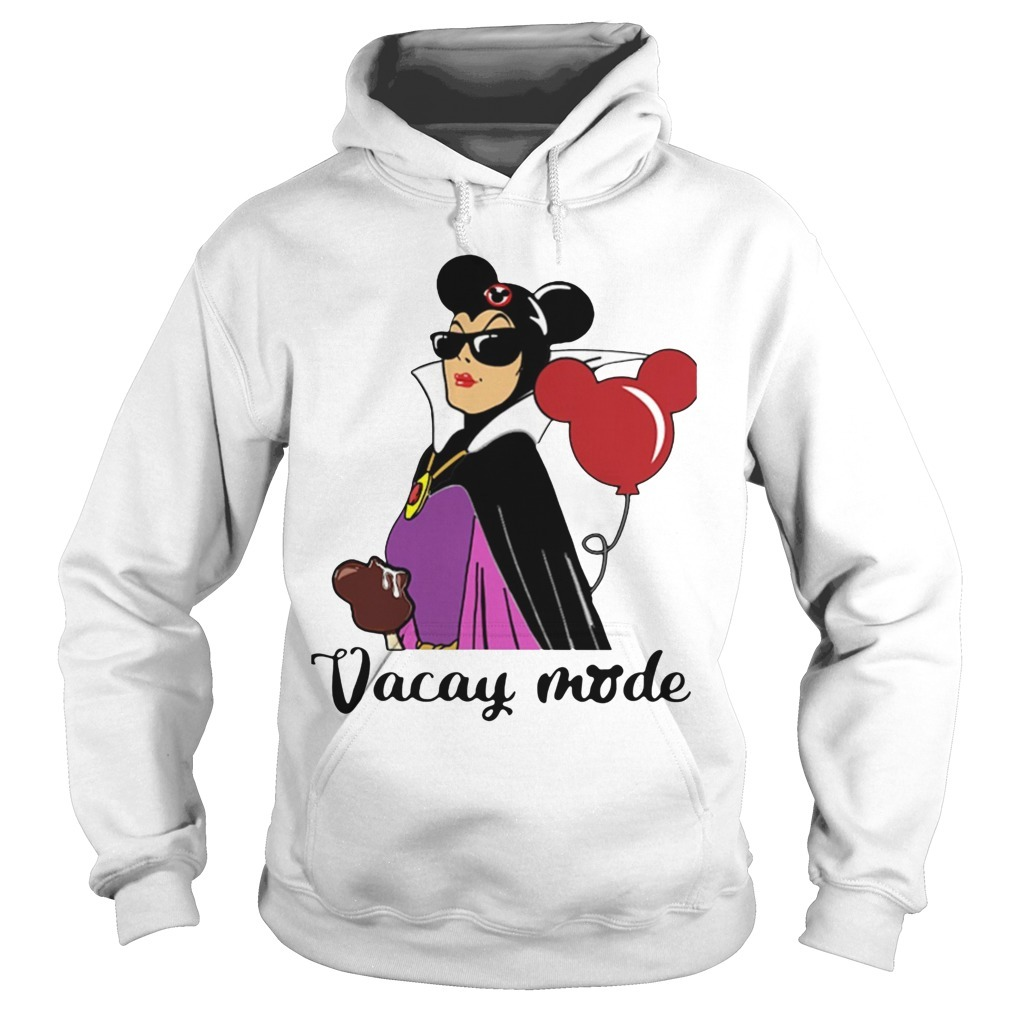 Balloon Mickey Mouse Maleficent Vacay Mode Hoodie