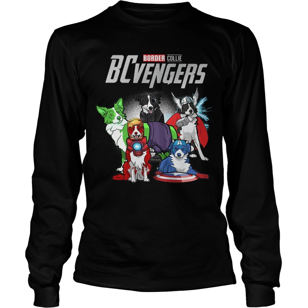 Border Collie BCvengers Long Sleeve Tee
