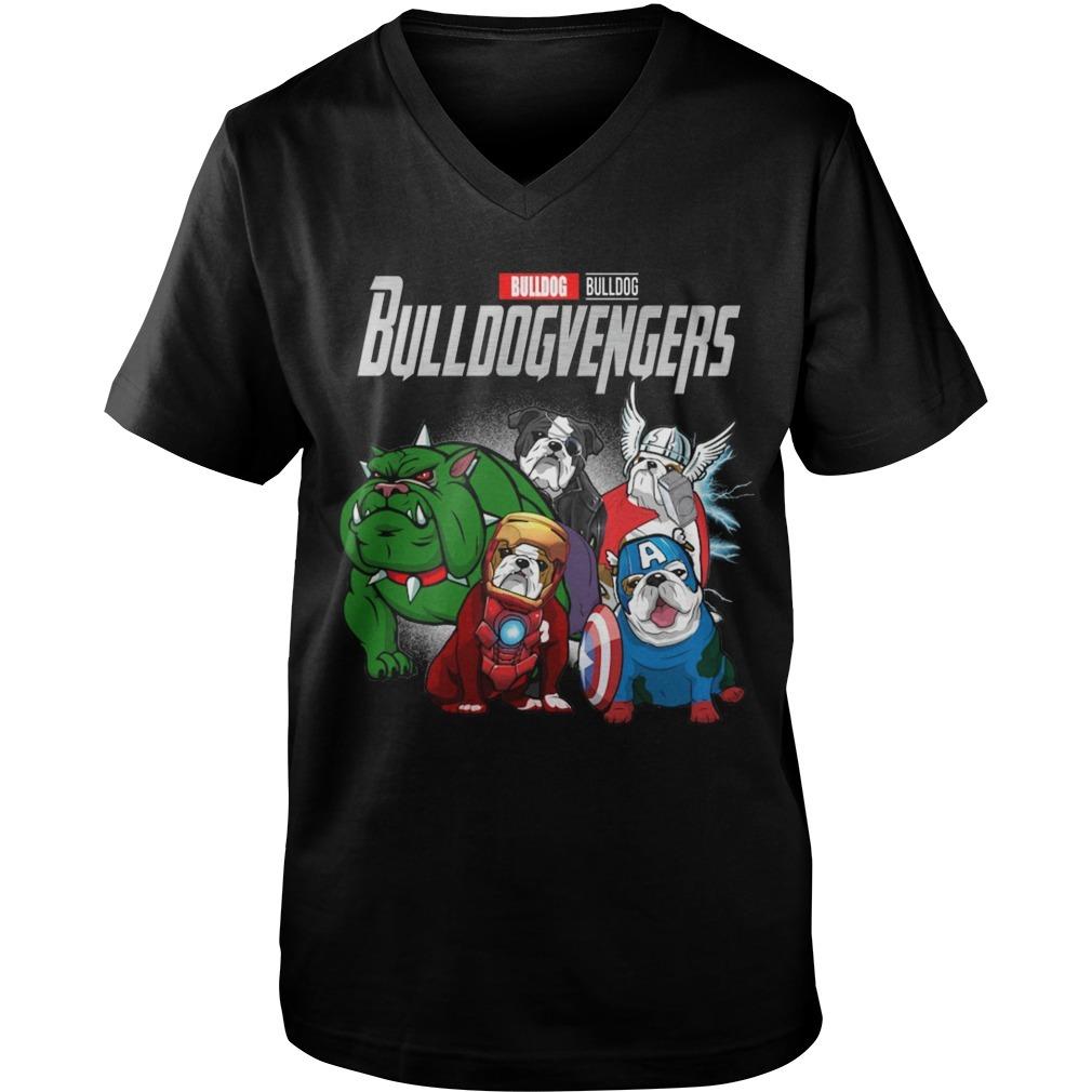 Bulldog Bulldogvengers V Neck Shirt