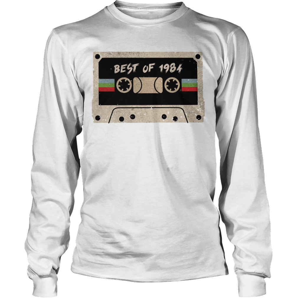 Cassette Best Of 1984 Long Sleeve Tee