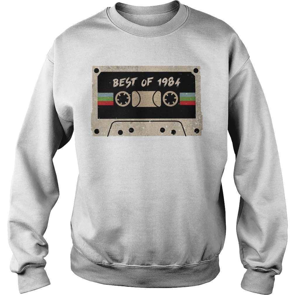 Cassette Best Of 1984 Sweater
