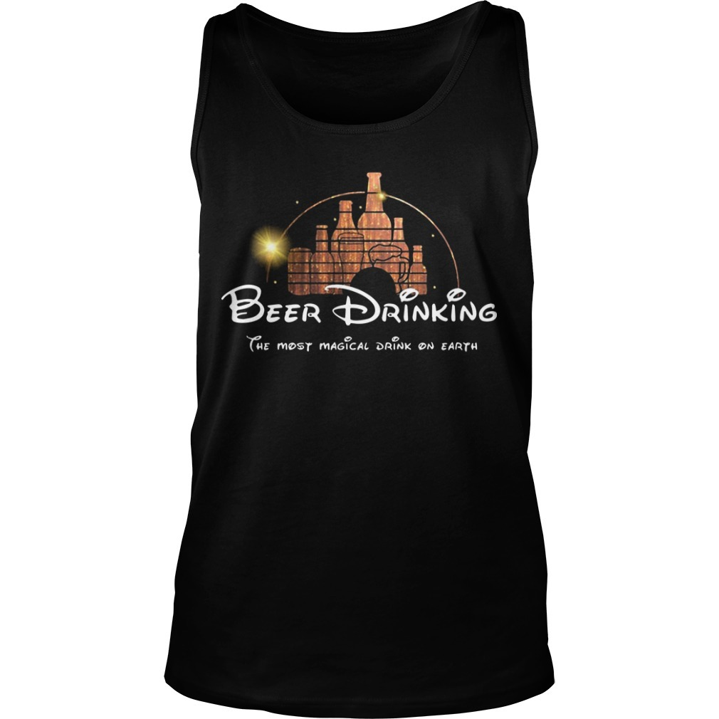 Disney Beer Drinking The Most Magical Drink On Earth Tank Top