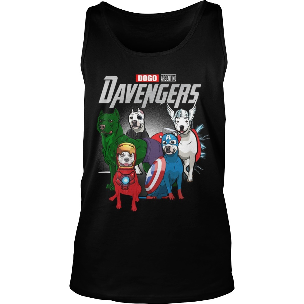 Dogo Argentino Davengers Tank Top