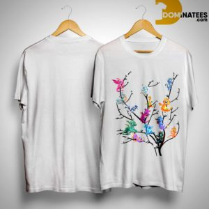 Dragons On Willow Catkins Tree Shirt