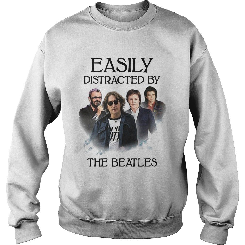 Easily Distracted By The Beatles Sweater