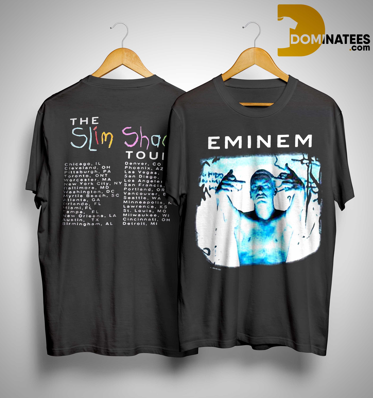 Eminem The Slim Shady Tour Shirt