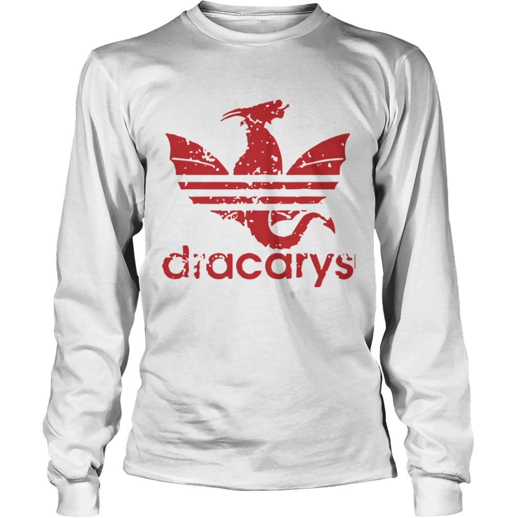Game Of Thrones Adidas Dracarys Long Sleeve Tee
