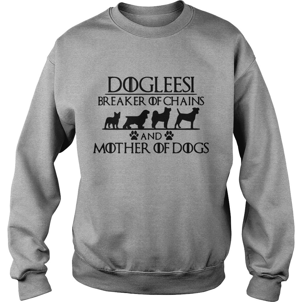 Game Of Thrones Dogleesi Breaker Of Chains And Mother Of Dogs Sweater