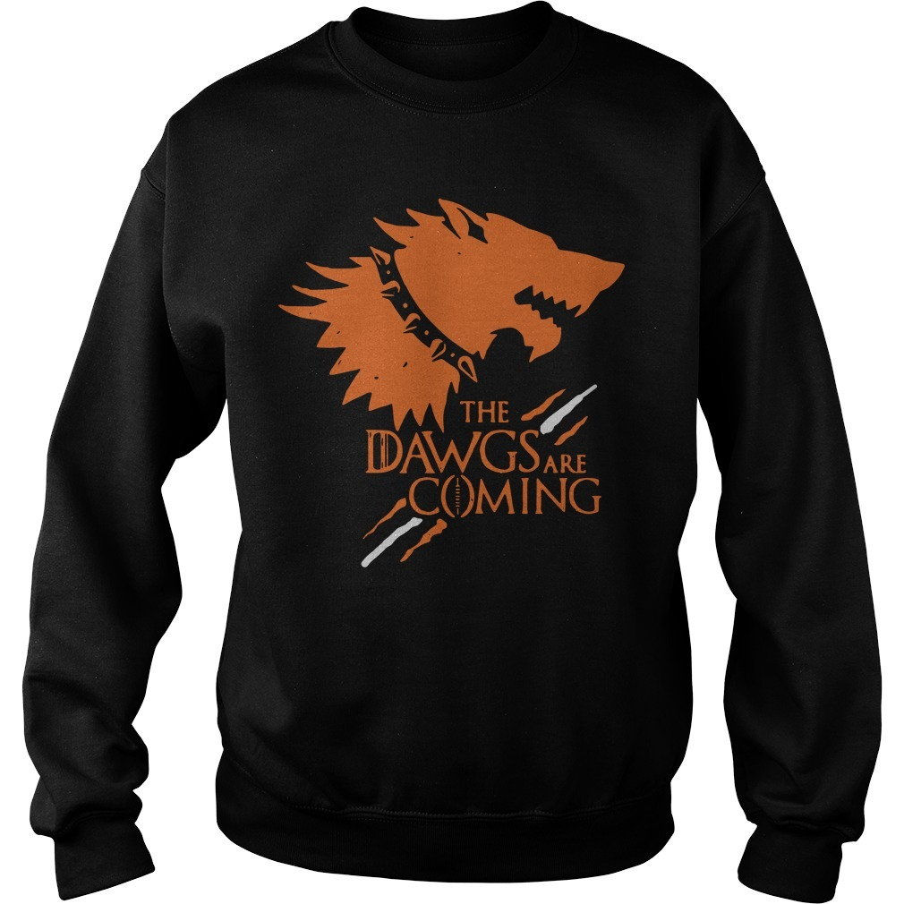 Game Of Thrones The Dawgs Are Coming Sweater