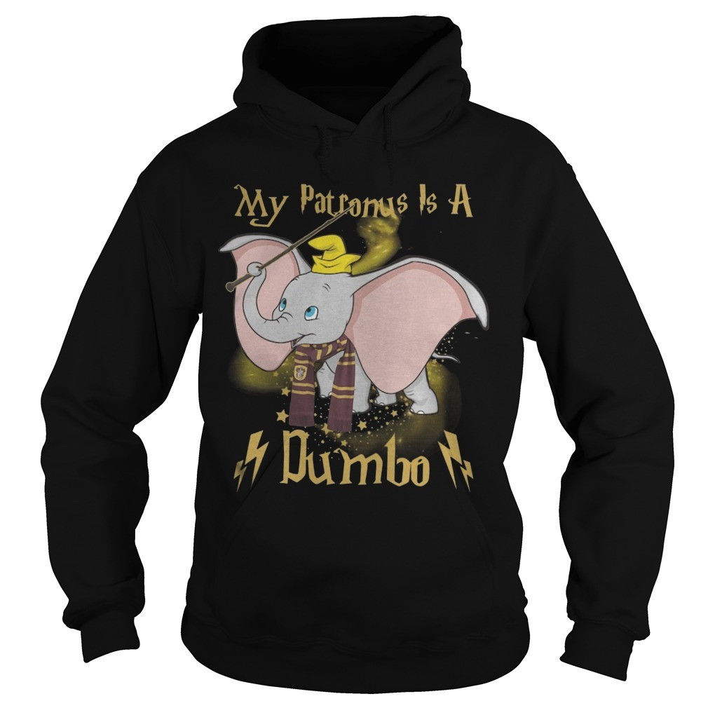 Harry Potter My Patronus Is A Dumbo Hoodie