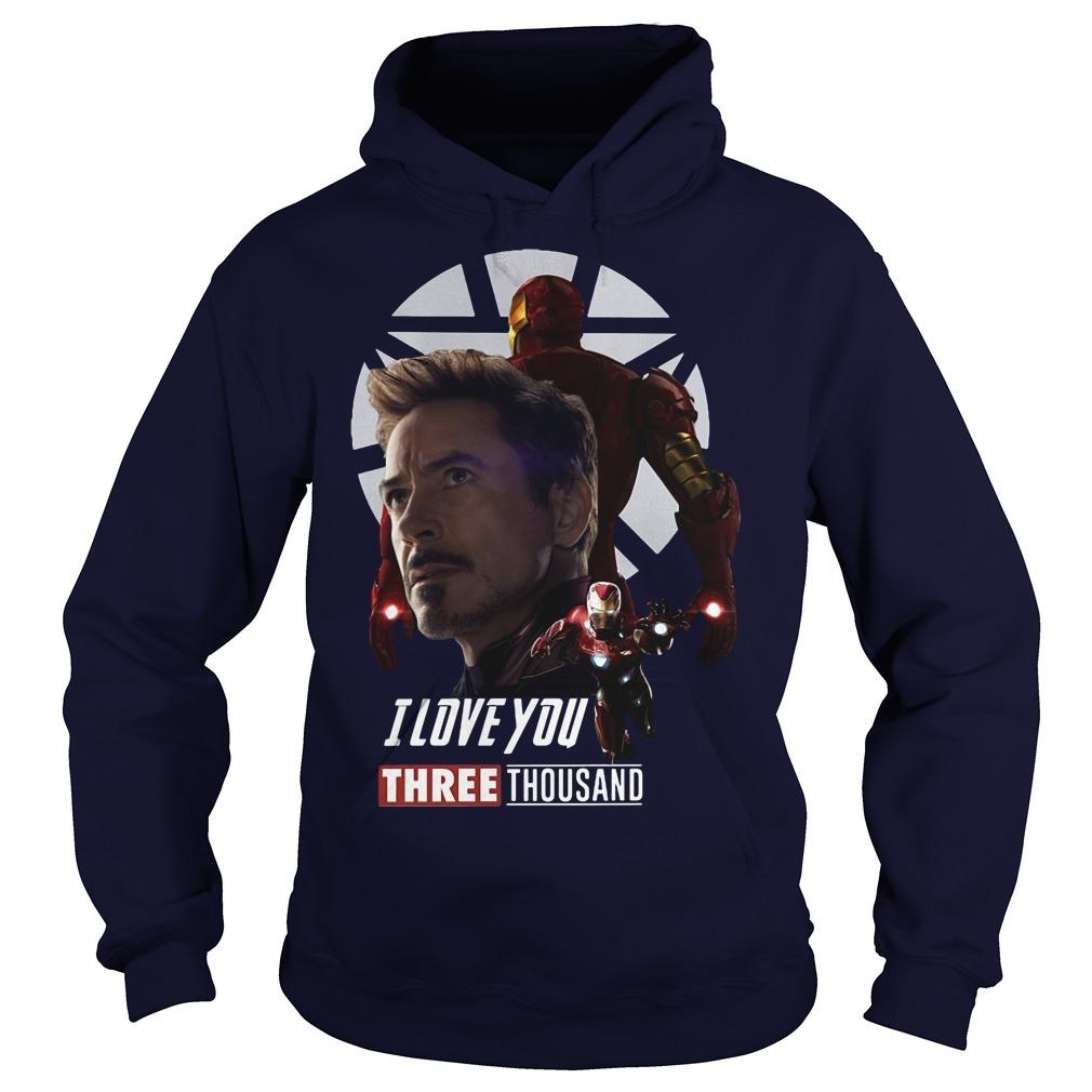Iron Man I Love You Three Thousand Hoodie