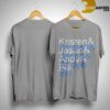 Jason Sudeikis Kristen & Jason & Andy & Bill Shirt