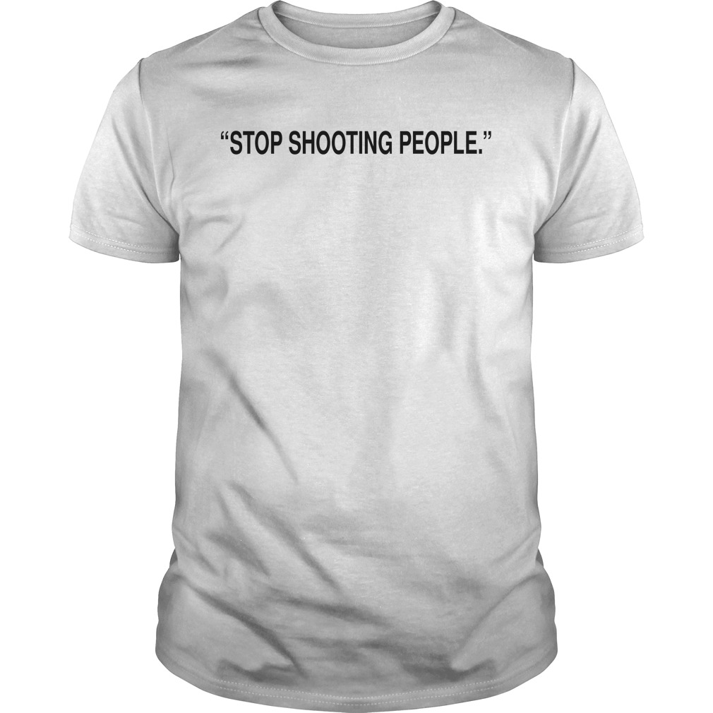 Jordan Clarkson Stop Shooting People Shirt
