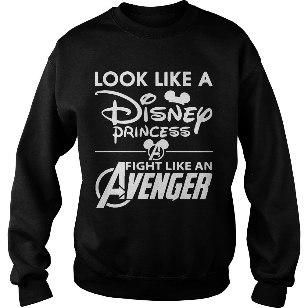 Look Like A Disney Princess Fight Like An Avenger Sweater