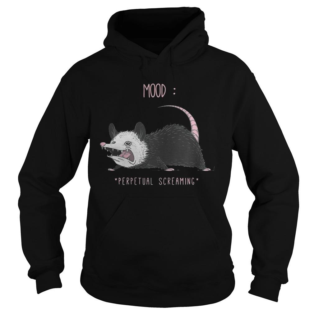 Rat Mood Perpetual Screaming Hoodie