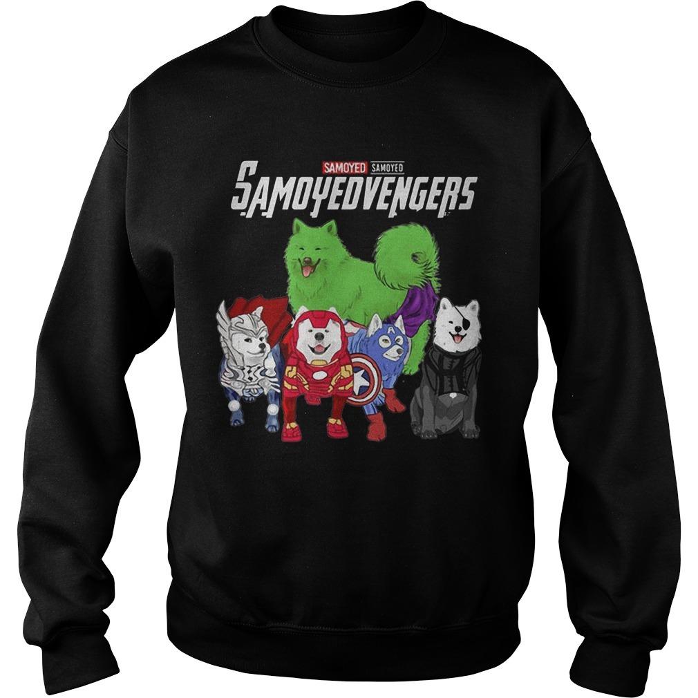 Samoyed Samoyedvengers Sweater