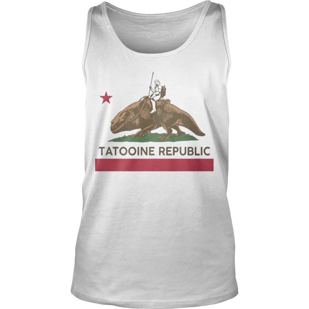 Star Wars Tatooine Republic Tank Top