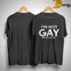 Stephen Amell I'm Not Gay But $20 Is $20 Shirt