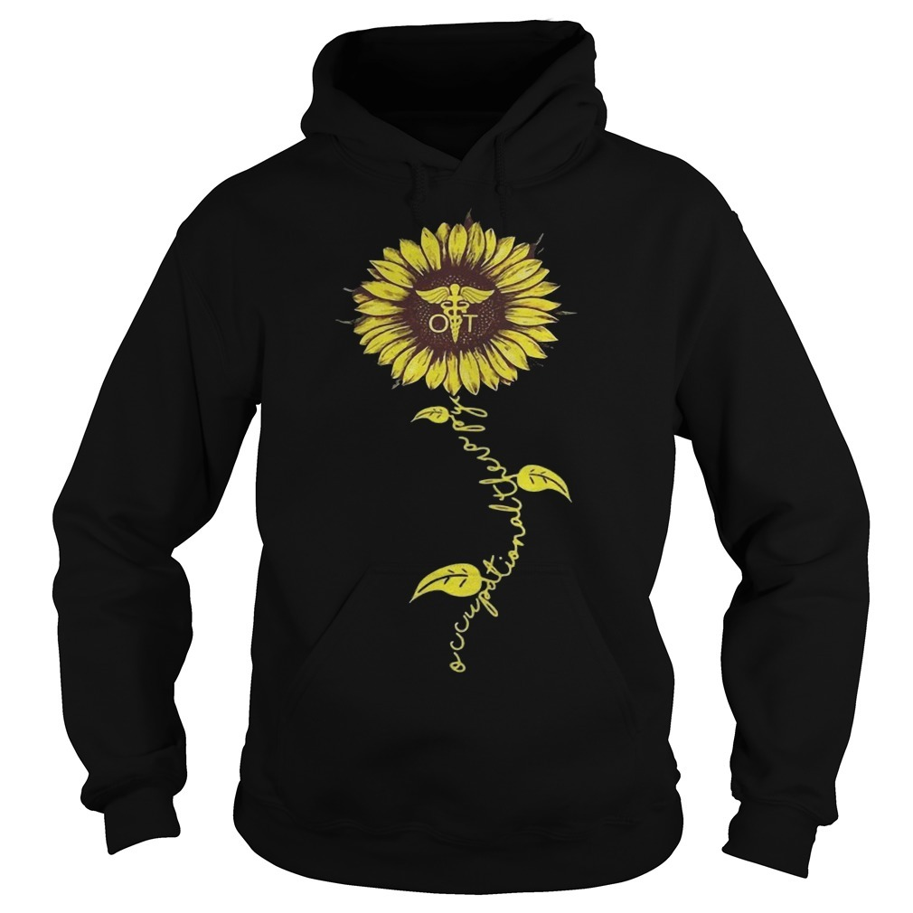 Sunflower Occupational Therapy Nurse Hoodie