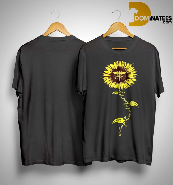 Sunflower Occupational Therapy Nurse Shirt