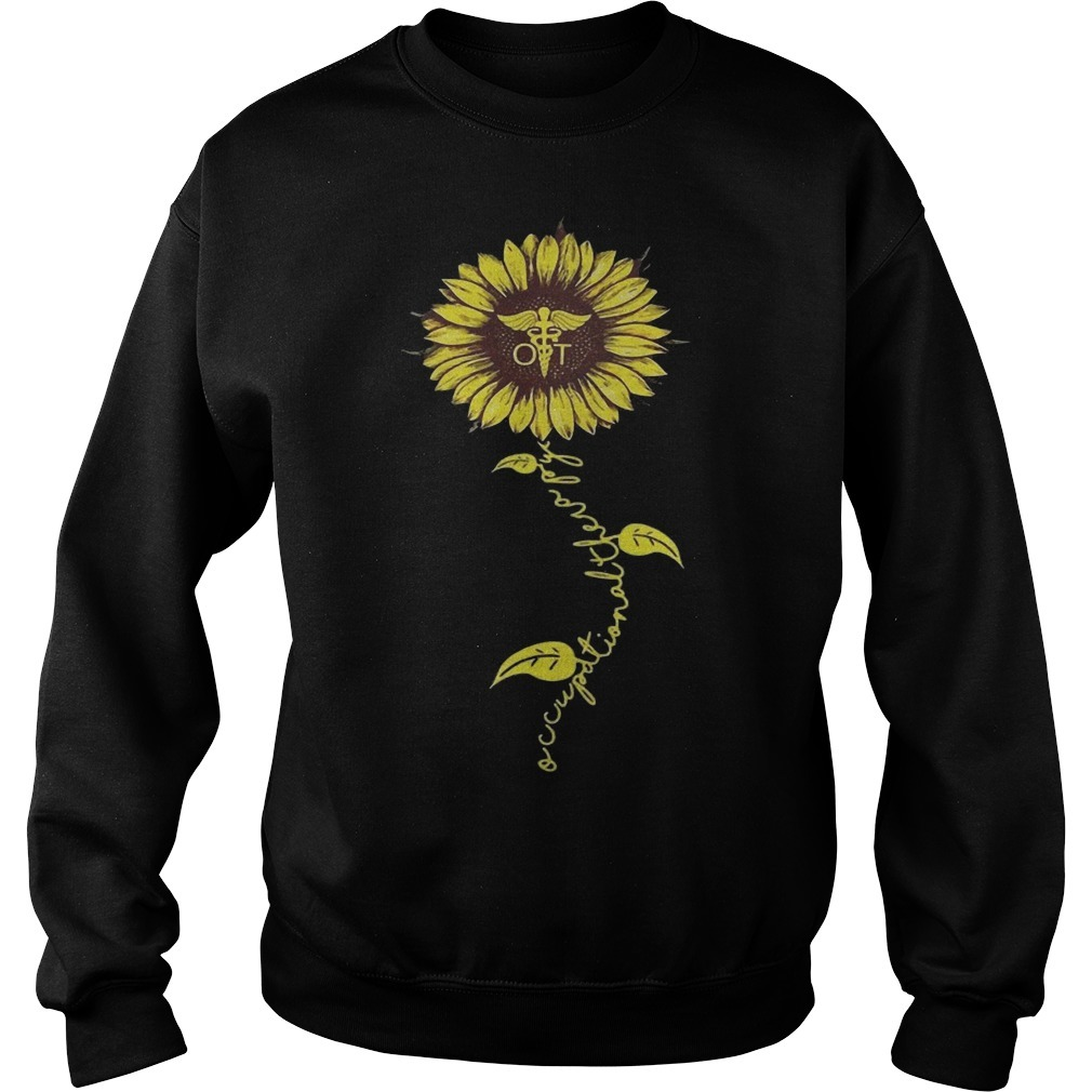 Sunflower Occupational Therapy Nurse Sweater