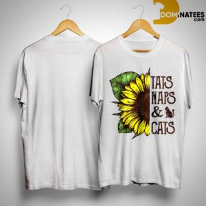 Sunflower Tats Naps And Cats Shirt