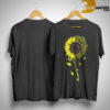 Sunflower You Are My Sunshine Fox Racing Shirt