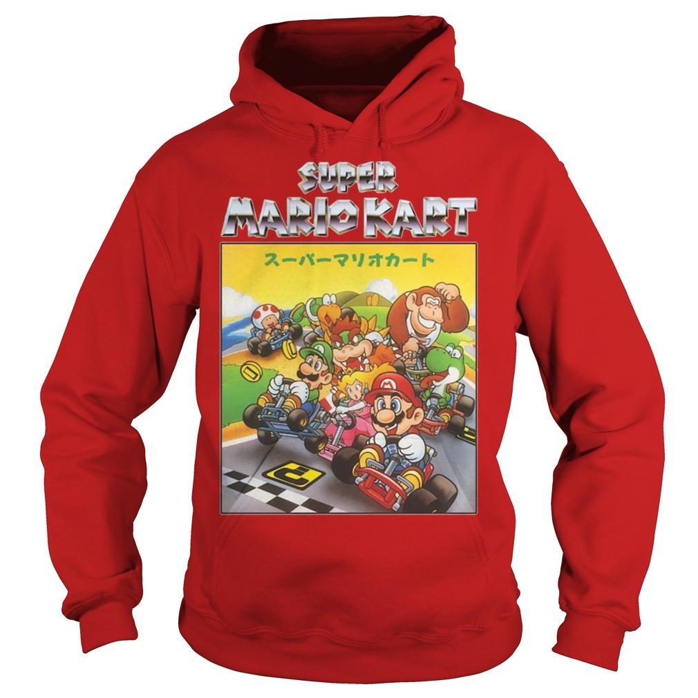 Super Mariokart Hoodie