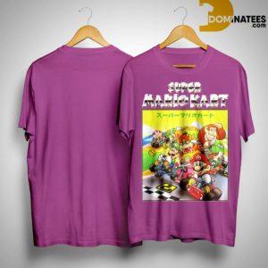 Super Mariokart Shirt