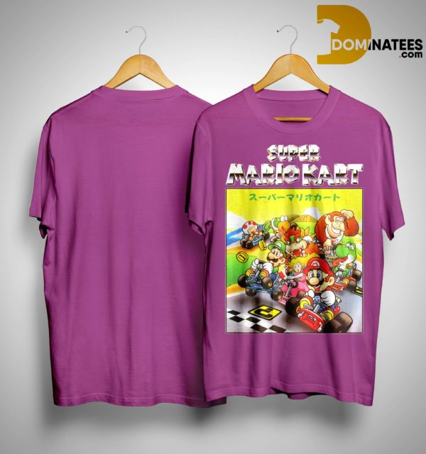 Super Mariokart Shirt