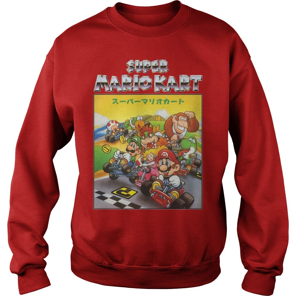 Super Mariokart Sweater