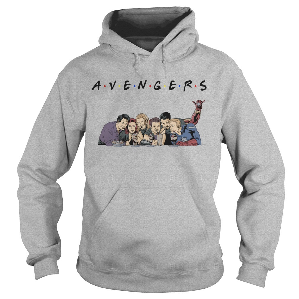 TV Shows parody avengers friends Hoodie