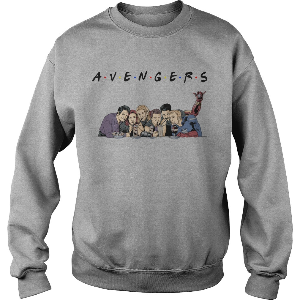 TV Shows parody avengers friends Sweater